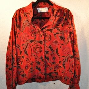 Vintage Givenchy Style Blouse